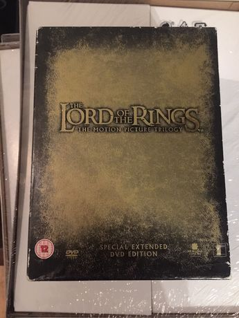 12 DVD Lord of The rings - Special extended edition