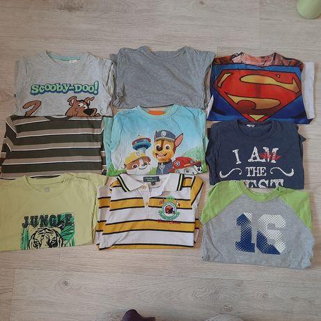Zestaw koszulek dla chłopca 110/116