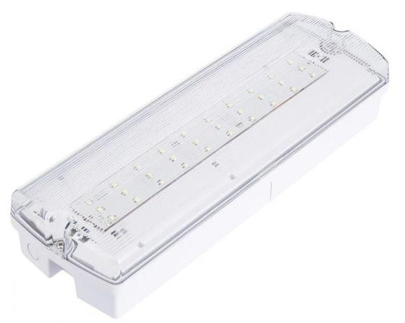 Luz de emergencia - lampada - usado, a funcionar!
