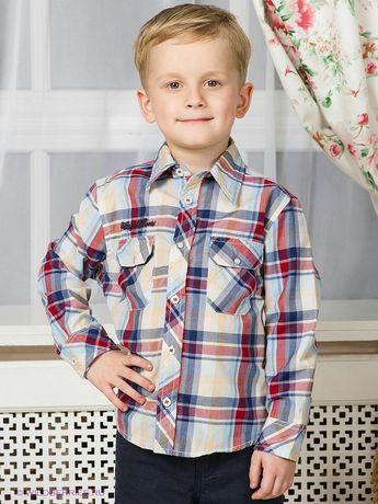 Модная стильная рубашка EarthBound размер 104 3-4 года состояние новой