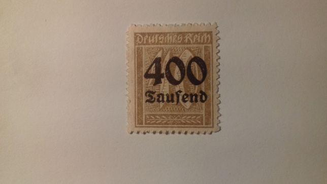 Znaczki pocztowe Niemcy Reich Mi 300 Wyd.Przedrukowane