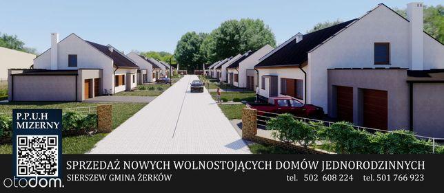 NOWY Dom 90,91m²+Garaż +Ogród-Sierszew 3.000 zł/m²
