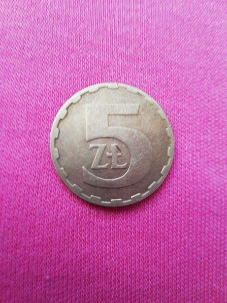 Moneta 5 zł z PRLu