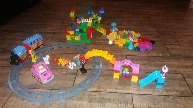Lego Duplo 10507 kolejka elektryczna + inne zestawy