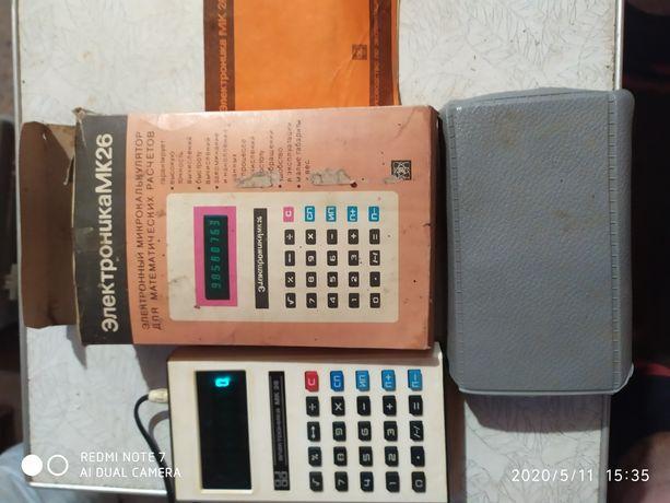 Калькулятор электроника МК26