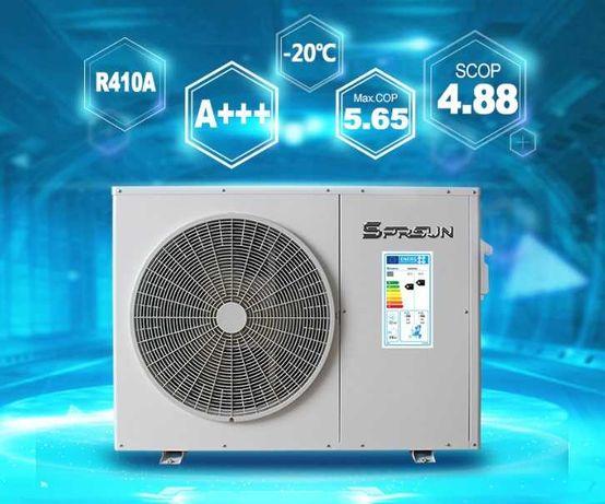 """Pompa ciepła A+++ Sprsun 12,5kW+montaż oraz dotacja """"Czyste powietrze"""""""