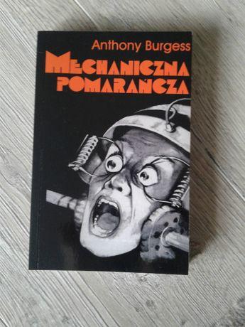 Książka Anthony Burgess Mechaniczna pomarańcza miękka oprawa małyforma
