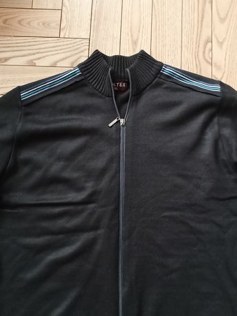 Sweter męski na zamek nowy bez metki rozmiar XL