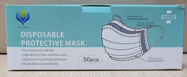 Máscaras Cirúrgicas Cx 50un
