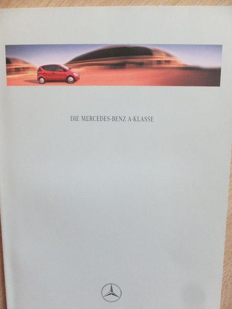 Prospekt Mercedes A-klasse W168