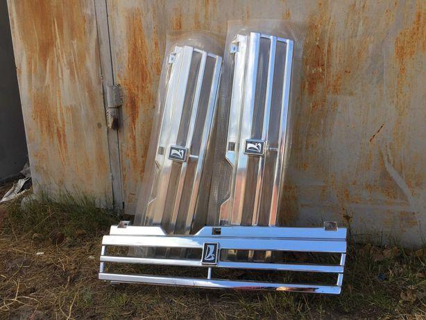 Решетка радиатора ваз2108.2109 хром заводская новая