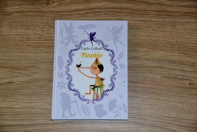 Pinokio nowa książka lektura szkolna Carlo Collodi