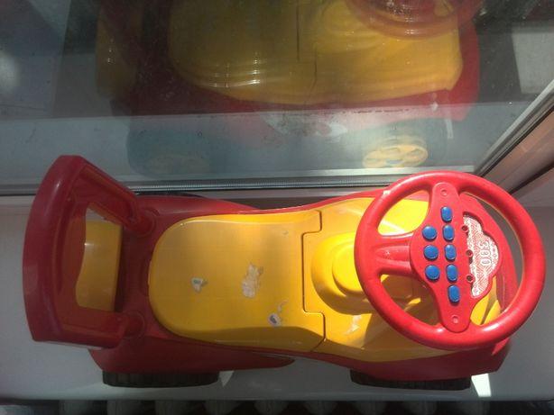 Машинка толокар «Автошка» музыкальная