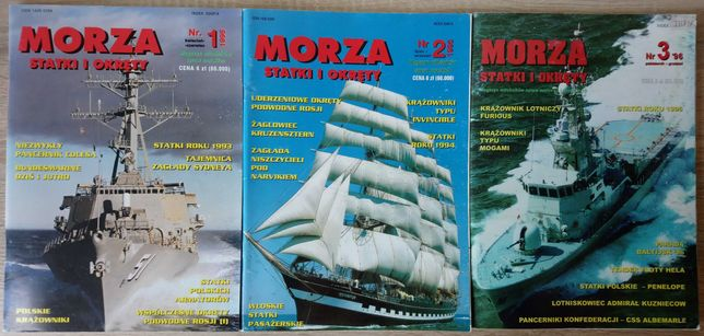 Morza Statki i Okręty [Rocznik 1996]