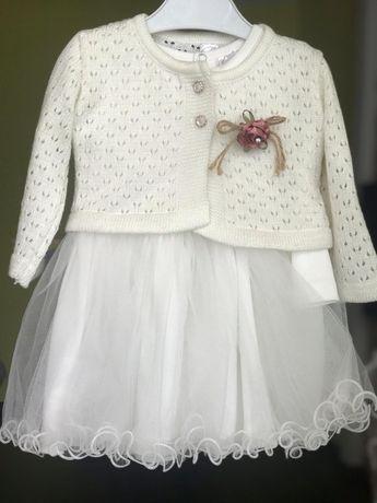 Плаття для маленькоі принцеси розмір 86см