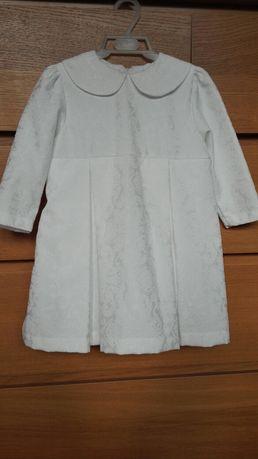 KRASNAL Elegancka sukienka NOWY komplet dziewczynka 86