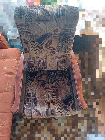 2 Fotele idealne na działkę bardzo dobry stan.