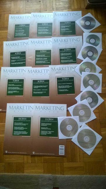 Marketing i Rynek rok 2014 11 numerów papierowych + CD