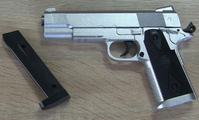 Страйкбольный пистолет Colt Hi-Capa (ZM 25) из металла, страйкбол