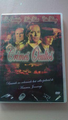 Filme em DVD original Crimes Ocultos