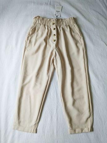 Брюки штаны Zara багги baggy paperbag
