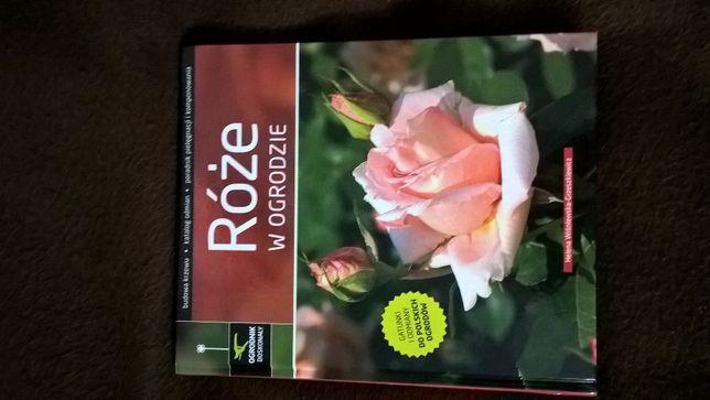 """""""Róże w ogrodzie""""-książka"""