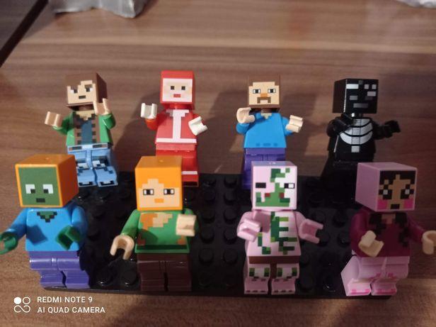 Figurki Minecraft Zestaw figurek figurki Minecraft Zestaw figurek
