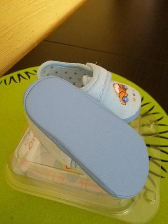 Buciki niemowlęce_kapcie_newborn slippers_rozmiar 11