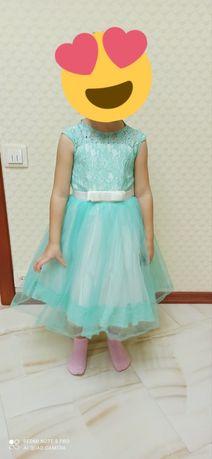 Платье бальное детское