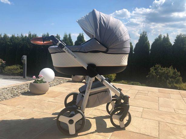 Wózek dziecięcy 3w1 z fotelikiem i parasolka