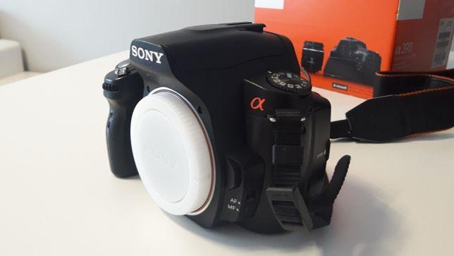 Lustrzanka Sony alfa390 a 390 + obiektyw