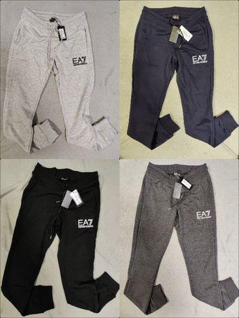Spodnie Dresowe Armani EA7 Dresy Wyszywane Outlet Premium