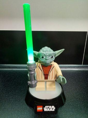 Йода Yoda Star Wars Звёздные войны Лего Lego фонарик ночник