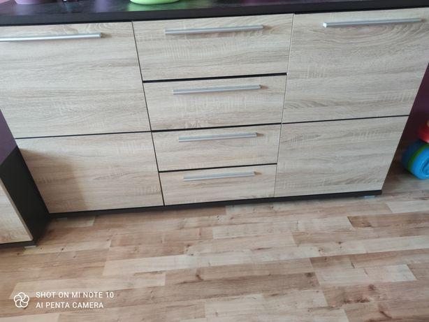 Komoda szuflady półki