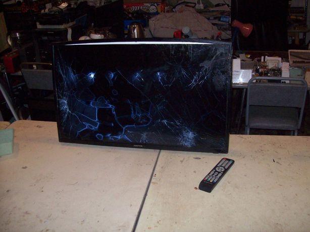 telewizor manta 32 led cale zbity z pilotem model mpeg4