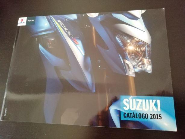 Catalogos de motas SUZUKI e KYMCO