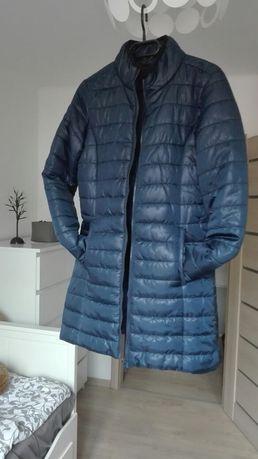 Nowa granatowa kurtka pikowana roz xs