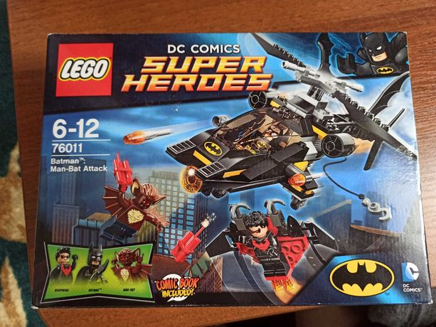 LEGO Super Heroes 76011 Batman: Man-Bat Attack Атака Мэн-Бэта