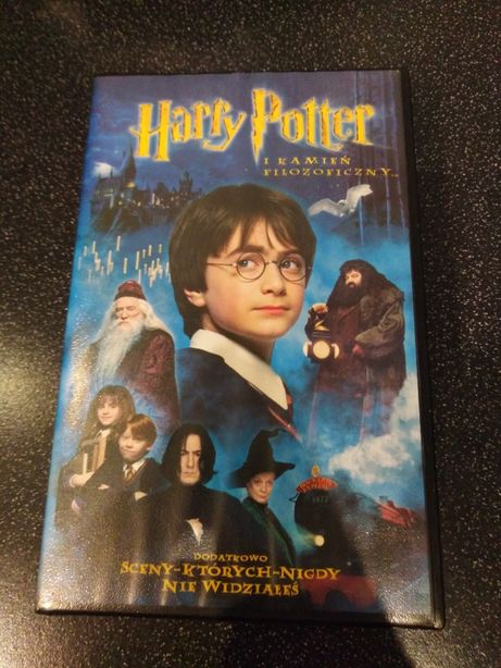 Harry Potter 2 części Komnata Tajemnic i Kamień filozoficzny vhs