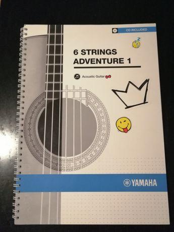 Książka yamaha gitara klasyczna z płytą