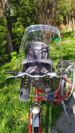 Fotelik na rower do 15kg