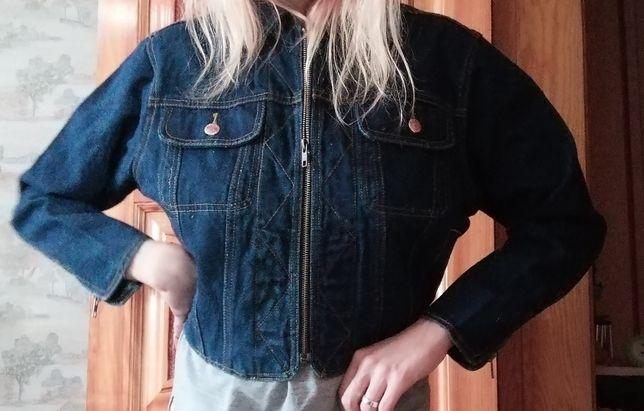 Джинсовая куртка унисекс