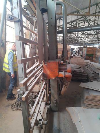 Piła panelowa ścienna Holz Her 1212 posuw mechaniczny