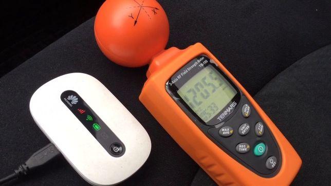 Измерение электромагнитного поля, электро-магнитного излучения WIFI
