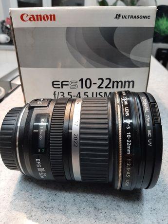 Объектив  Canon EF-S 10-22 mm 1:3.5-4.5 USM