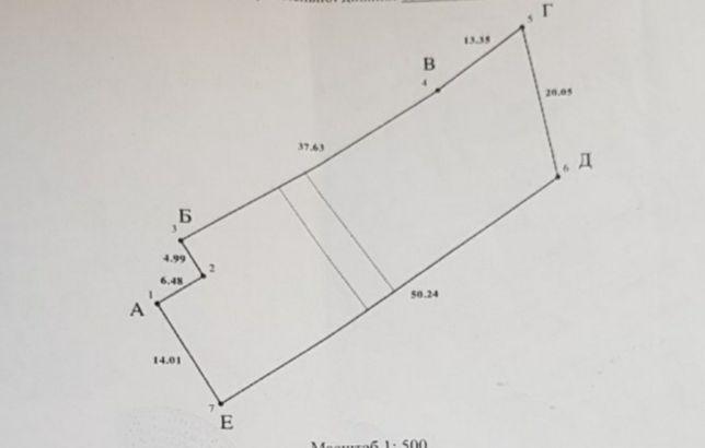 Продам участок на Котлова красная линия