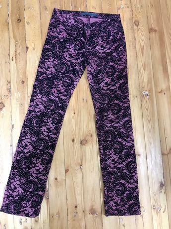 Розовые джинсы, брюки  на 40-42 р