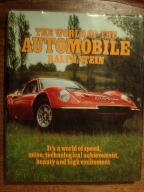 "Livro ""The world of the automobile """