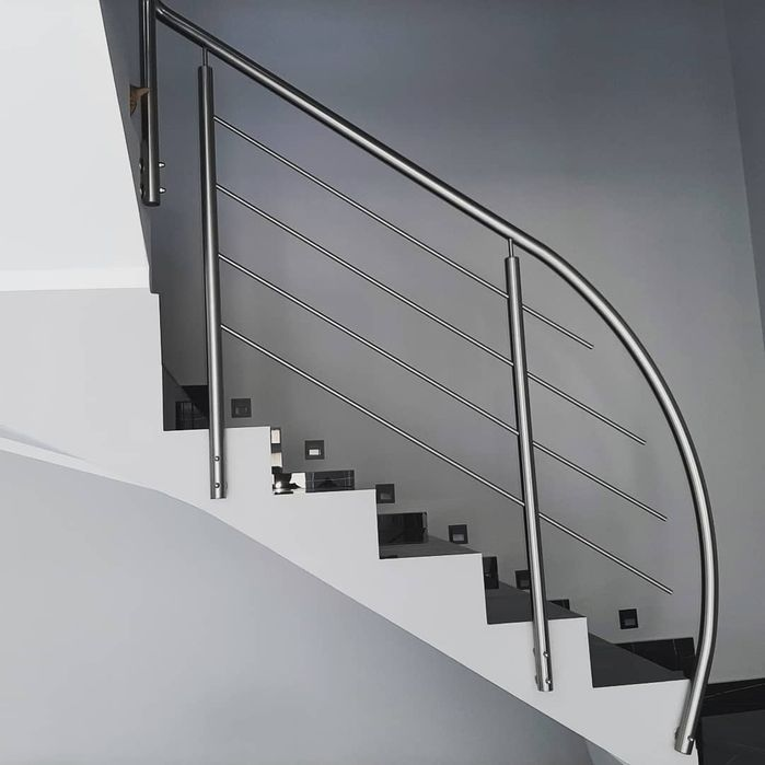 Balustrady nierdzewne, aluminiowe malowane proszkowe. Pakość - image 1