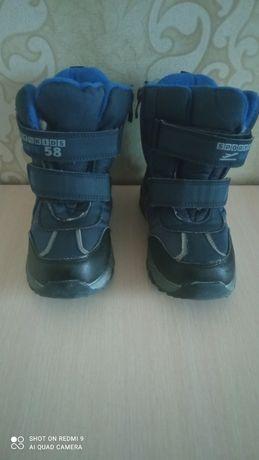 Термо ботинки на мальчика